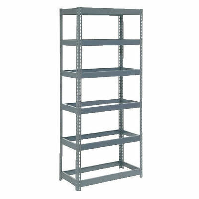 "Boltless Extra Heavy Duty Shelving 36""W x 24""D x 84""H, 6 Shelves, No Deck, Lot"