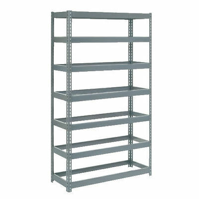 "Boltless Extra Heavy Duty Shelving 48""W x 18""D x 96""H, 7 Shelves, No Deck, Lot"