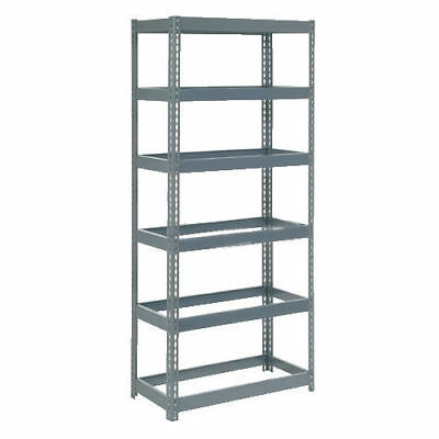 "Boltless Extra Heavy Duty Shelving 36""W x 24""D x 96""H, 6 Shelves, No Deck, Lot"