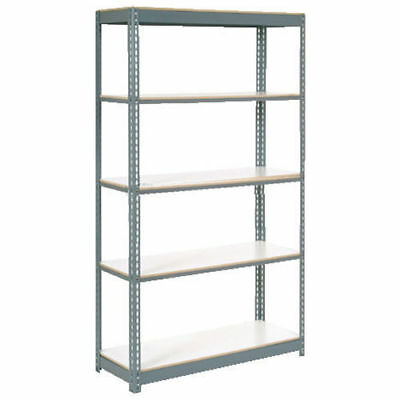 "Boltless Extra Heavy Duty Shelving 36""W x 12""D x 96""H, 5 Shelves, 1500 lbs."