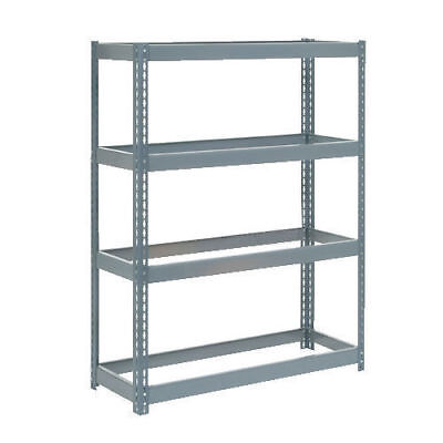 "Boltless Extra Heavy Duty Shelving 48""W x 18""D x 72""H, 4 Shelves, No Deck, Lot"