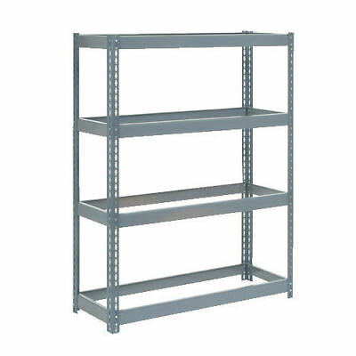 "Boltless Extra Heavy Duty Shelving 48""W x 24""D x 72""H, 4 Shelves, No Deck, Lot"