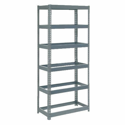"Boltless Extra Heavy Duty Shelving 36""W x 24""D x 72""H, 6 Shelves, No Deck, Lot"