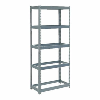 "Boltless Extra Heavy Duty Shelving 36""W x 18""D x 72""H, 5 Shelves, No Deck, Lot"