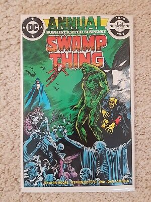 DC Swamp Thing Annual #2 1st Justice League Dark