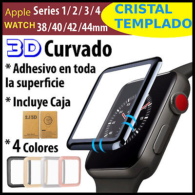 Protector de Pantalla Cristal Templado Apple Watch Series 1/2/3/4 38/40/42/44mm