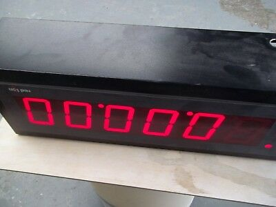 Red Lion Large Display Counter Model Mpaxtm With Epax Counter 6Ea 4 Inch Numbers