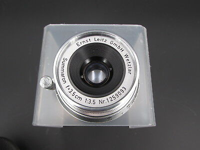 Leica Leitz Wetzlar Summaron 3.5cm F3.5 M Mount Lens for 35mm M3 Camera