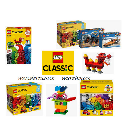 Lego Classic Creative Construction Box Gift Sets - 10704/10695/10715 & More -New