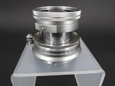 Leica Leitz GmbH Wetzlar Summicron 5cm 1:2 M Mount Lens for 35mm M3 Camera
