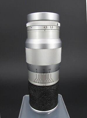 Leica Leitz GmbH Wetzlar Hektor 13.5cm 1:4.5 M Mount Lens for 35mm M3 Camera