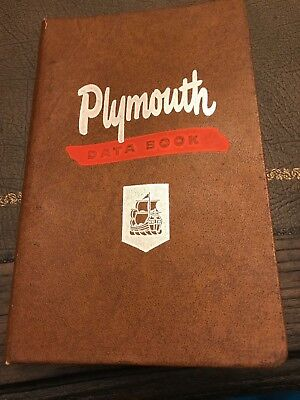 1949 Plymouth Dealer Data Book Ross Roy MINT No Reserve Belvedere Savoy
