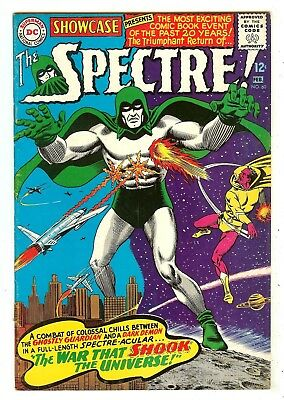 Showcase 60   1st Silver age Spectre by Anderson