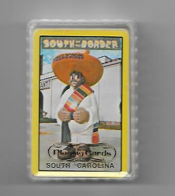South of the Border PEDRO 52-card deck housed in plastic ~ w/SC tax sticker