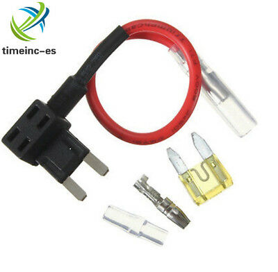 12V Small ACS Add A Circuit Piggy Back Pluggable Standard Blade Tap Fuse Holder