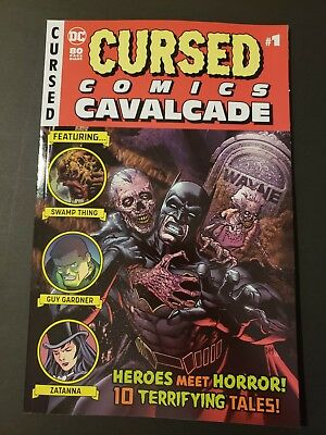 Cursed Comics Cavalcade #1 Dc Comics Hot! Sold Out! High Grade!