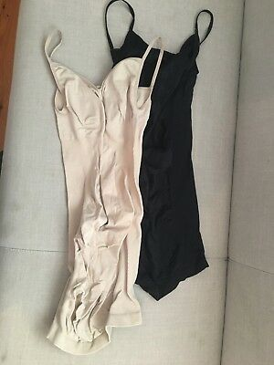 Maternity supportive underdress bundle. 2 items  Size S/M Beige and black