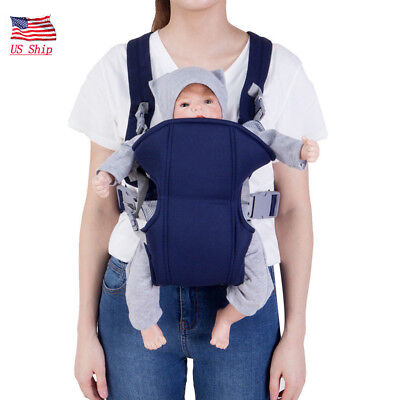 US! Newborn Baby Infant Sling Adjustable Backpack Comfort Buckle Carriers Wrap