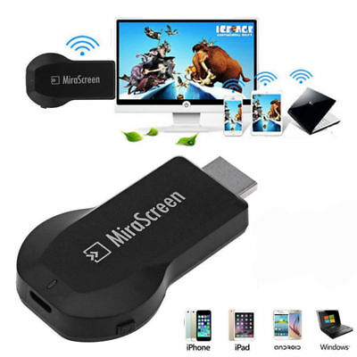 Wireless WiFi Display TV Dongle Receiver Mirascreen Media Airplay Miracast