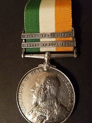 Kings South Africa Medal .Drummer J Colohan KIA WW1