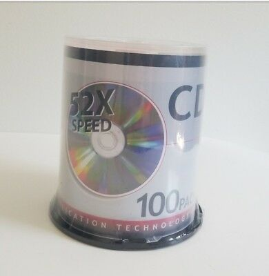 Color Laboratories CD-R MCM52C100 52x Speed 100 Pack Spindle 80 Min 700 MB