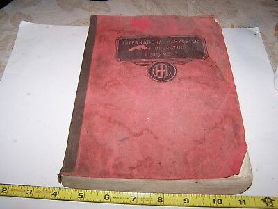 Original 1939 INTERNATIONAL HARVESTER Full Line Farm Equipment Dealer Catalog
