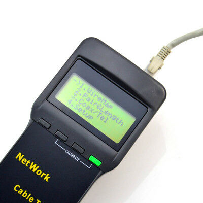 RJ45 RJ11 Cable Tester LAN Meter Track Test CAT5//CAT6 Wire Network Indoor T1C4R