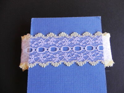 Card of New Knit Lace - Lemon