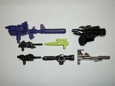 Transformers G1 Parts 1986 RIPPERSNAPPER large gun weapon abominus