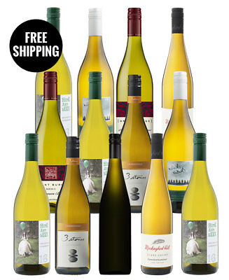 South Australia Whites Dozen + Bonus Bottle (13 Bottles)