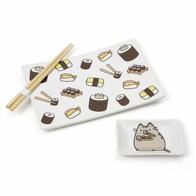 NEW Pusheen Sushi Set with Chopsticks from Purple Turtle Toys