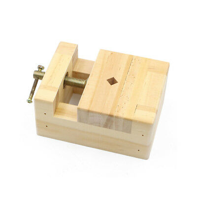 Wooden Mini Flat Pliers Vise Clamp Table DIY wood Bench Vice tool 105*70*42mm