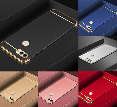 For Huawei Honor Play 10 8X 7A 7C 9 Lite Electroplate Slim Hard Back Case Cover