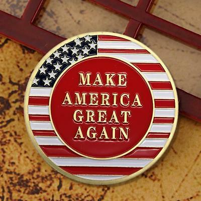 Trump Avatar Make American Great Again Commemorative Coin Metal Craft Collection