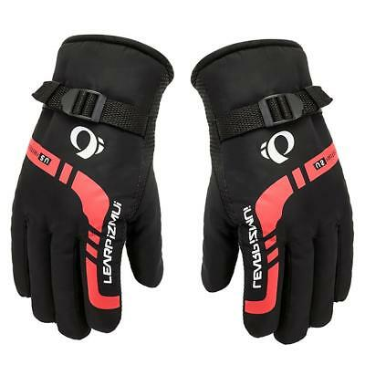 Men's Winter Sports Bicycle Motorcycle Cycling Gloves Fleece Lined Warm Mitts