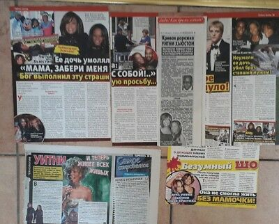 Whitney Houston Clippings 8 - Russia, Sweden, France, Germany, Uk...