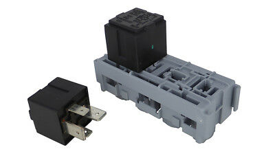 Relay Holder / Box - Holds 2x MAXI Relays with Terminals - MTA Italy