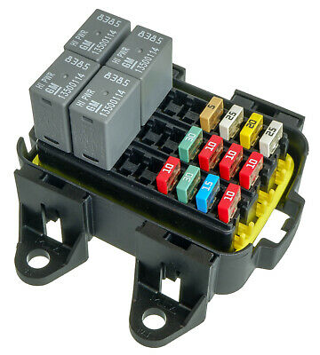 MTA Waterproof Fuse Relay box Panel for 30 Mini Fuses or 10 Micro 280 Relay
