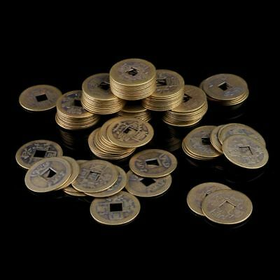 10pcs 24mm Chinese Feng Shui Lucky Ching Coins Ten Emperors Educational Coin