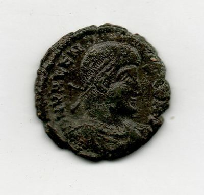 Metal detector find Roman  bronze coin