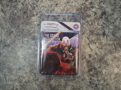 Star Wars Imperial Assault The Grand Inquisitor Villain Pack Miniature Game New