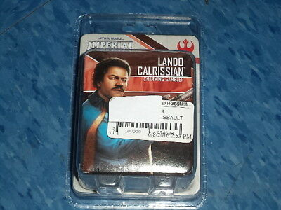 Star Wars Imperial Assault Lando Calrissian Ally Pack Miniatures Board Game New