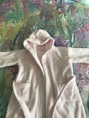 Little White Company Robe (dressing Gown)