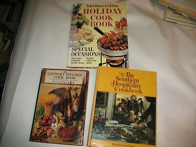 The Southern Hospitality Cookbook, holiday cookbook and the country kitchen