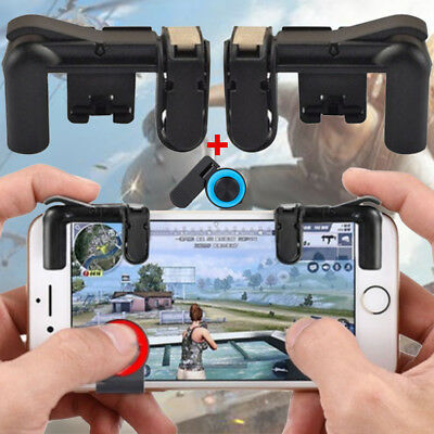 Mobile Game Controller Sensitive Shoot Aim Buttons L1R1 Mobile Gaming Rocker