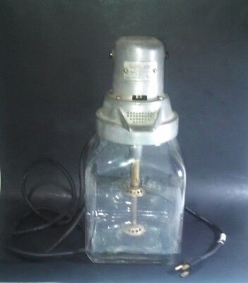 Vintage Wardway 110 Volt Butter Churn, Sold By Montgomery Ward 8000 Rpm