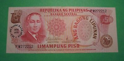 Philippines 20 Piso Banknote Very Light Circulation..