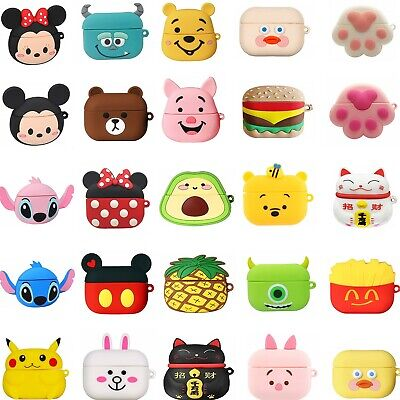 Airpods Pro Case Airpods 3 2 1 3d Cartoon Cover For Apple Airpods