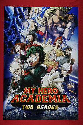 My Hero Academia Two Heroes Anime Manga Art Picture Promo Poster 24X36 New  MHAT