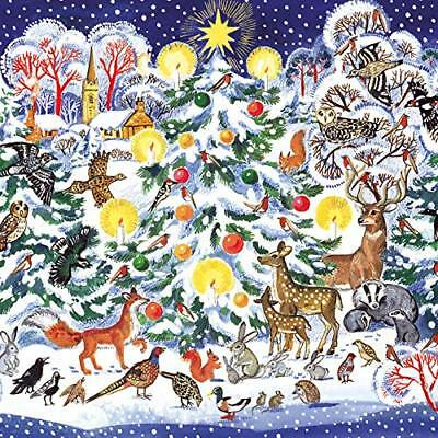 MACMILLAN CANCER SUPPORT Christmas Cards - Pack of 8 - Festive Foxes ...